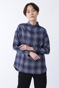【WEB限定 NATIC】オンブレチェックシャツ