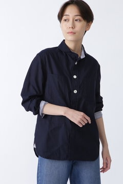 【WEB限定 NATIC】キルトシャツ