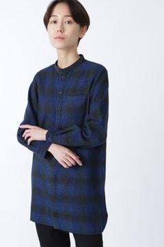 【WEB限定 NATIC】2重織りシャツ