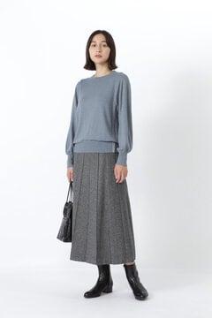 撚杢ツィードスカート