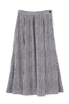 ≪arrive 5e≫ストライププリントスカート