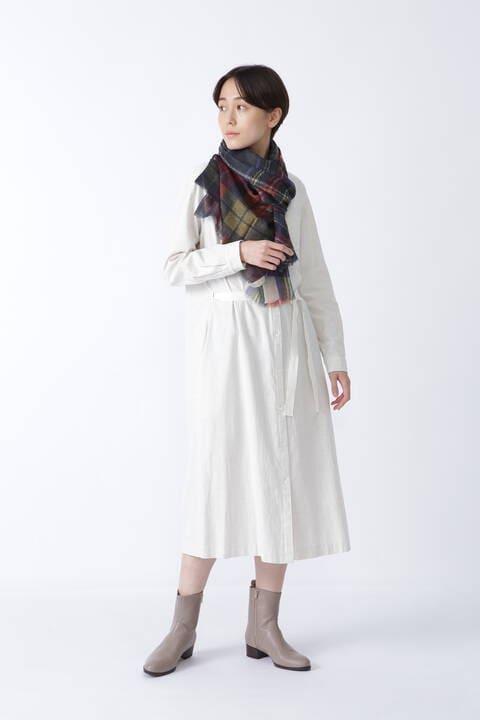 ≪Japan couture≫ヨコヘリンボーンワンピース