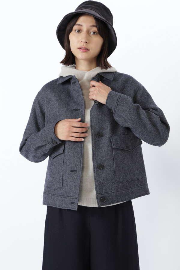 ≪Japan couture≫シェットランドウールブルゾン