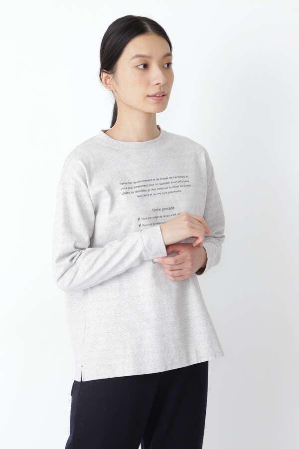 【先行予約 10月上旬-中旬 入荷予定】リサイクル天竺ロゴTシャツ