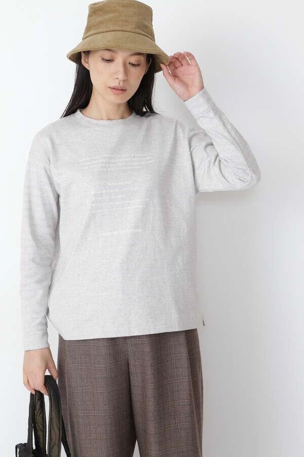 リサイクル天竺ロゴTシャツ
