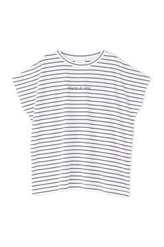 [一部WEB限定] サイロハイゲージボーダーTシャツ