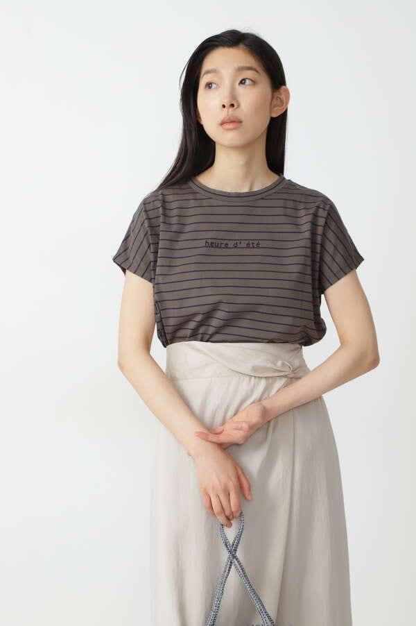 【先行予約 7月上旬-中旬 入荷予定】サイロハイゲージボーダーTシャツ