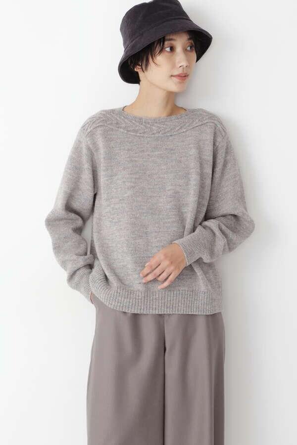 【先行予約 10月中旬-下旬 入荷予定】≪Japan Couture≫英国羊毛プルオーバー