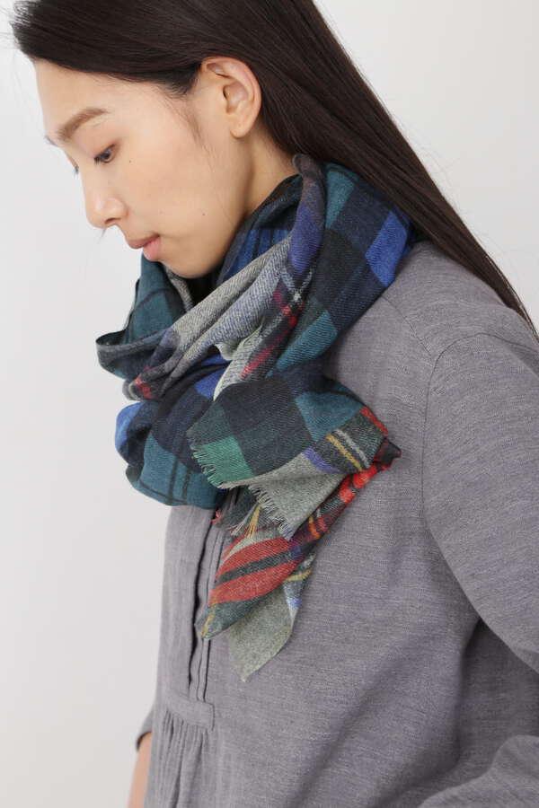 【GLEN PRINCE】マルチプリントスカーフ