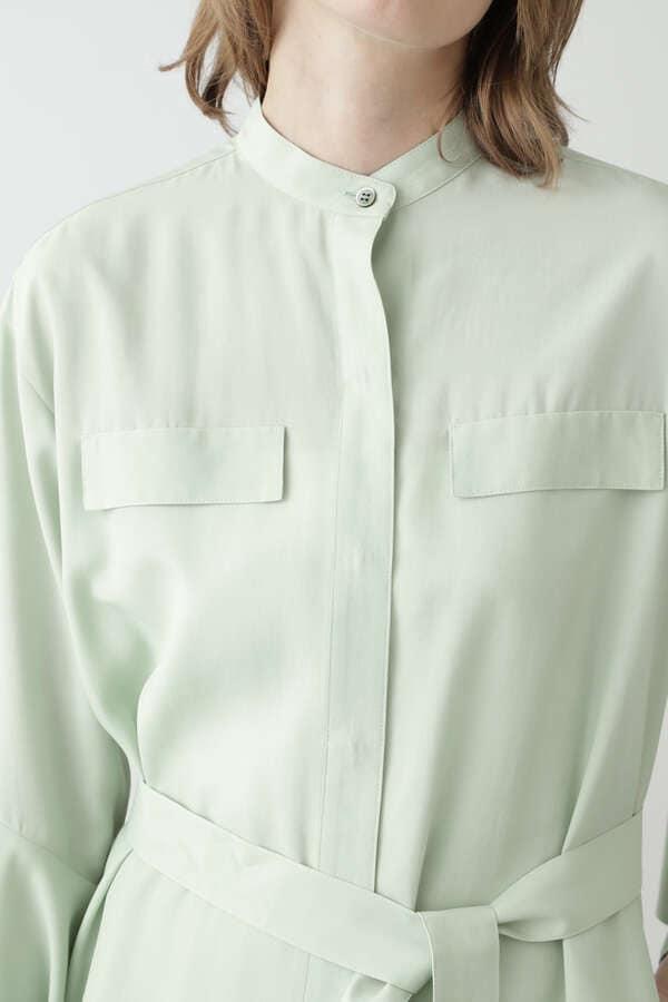 ロングシャツ羽織