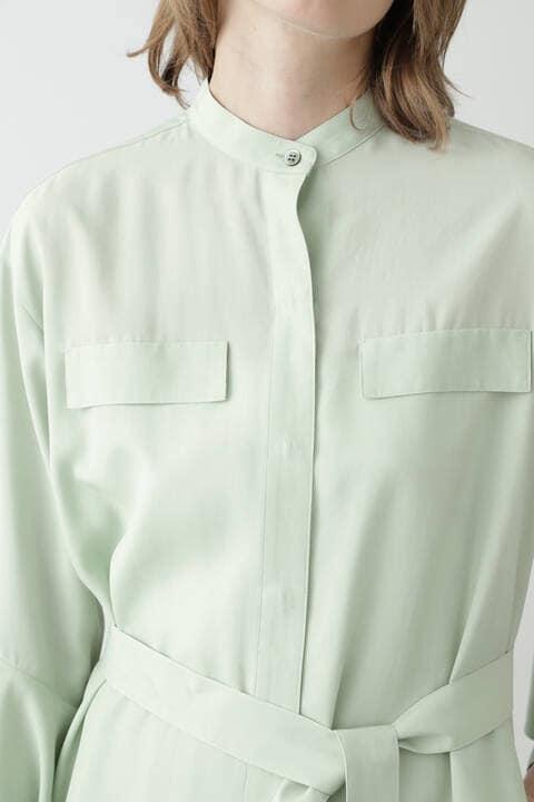 ロングシャツ羽織り