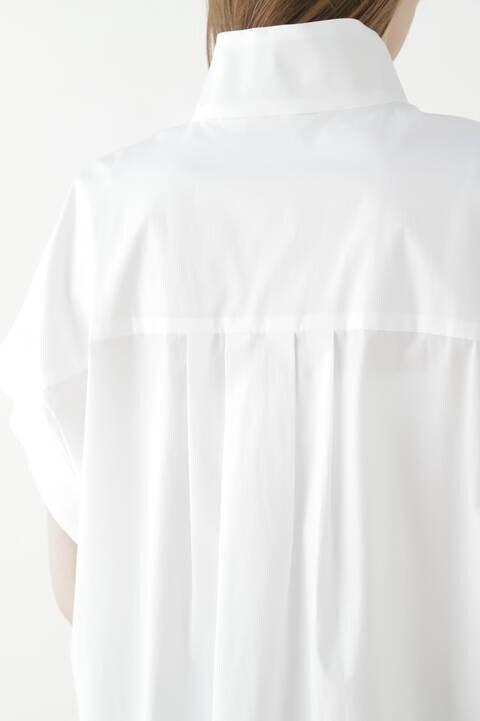 スタンドハーフスリーブシャツ