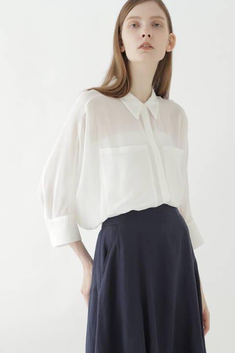 シアーフォルムシャツ