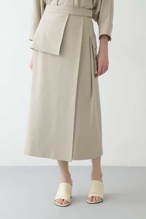 VISPOLYNOトロピカルセットアップスカート