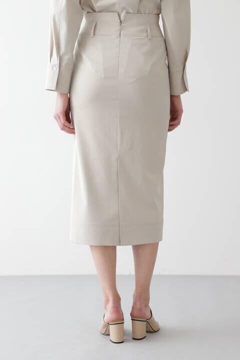 CU/PLメランジセットアップスカート