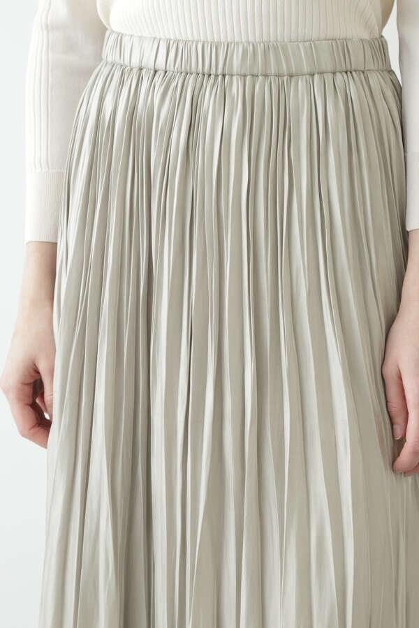 グロッシープリーツスカート