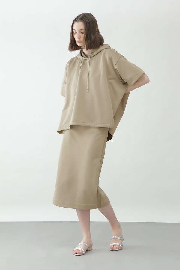 裏毛セットアップスカート