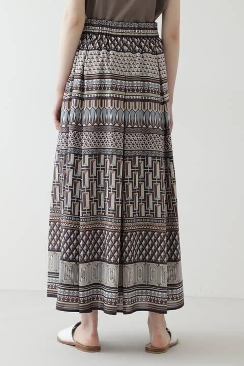 アフリカンプリント スカート