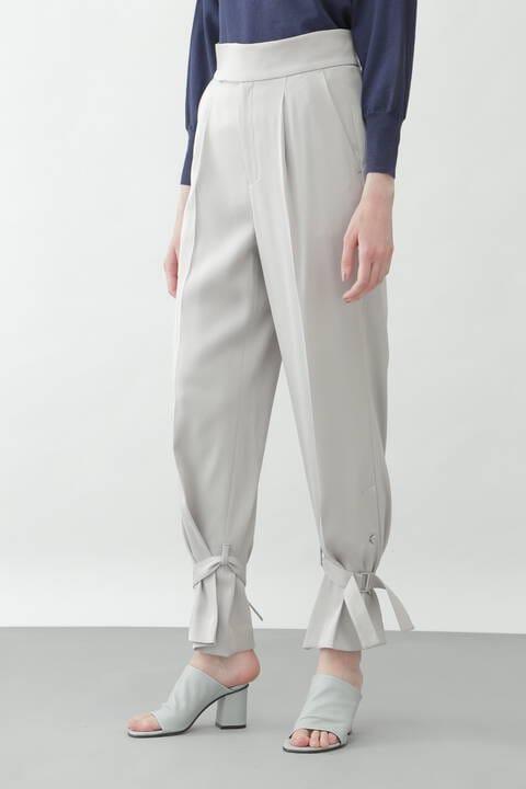 裾タイドパンツ
