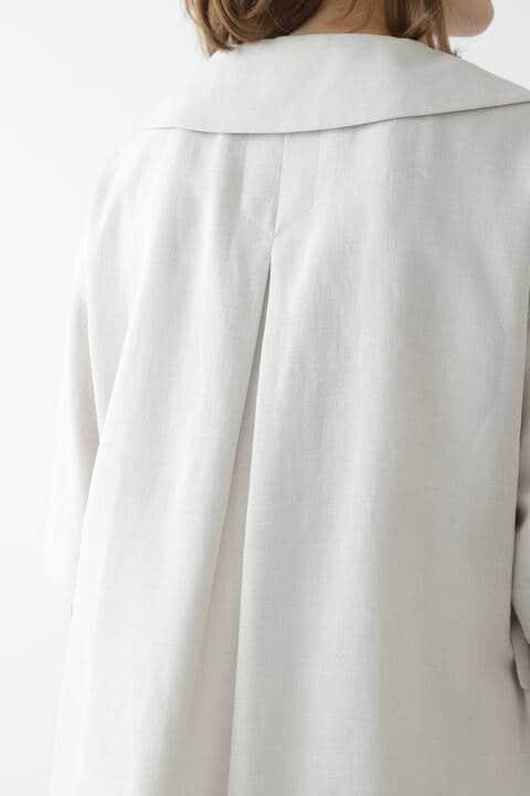 メランジギマセットアップジャケット