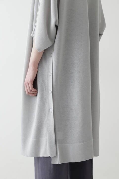 【先行予約 5月上旬-中旬入荷予定】麻レーヨンミックスカーデ