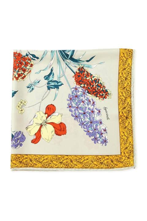 manipuri ハイドランジア シルクスカーフ
