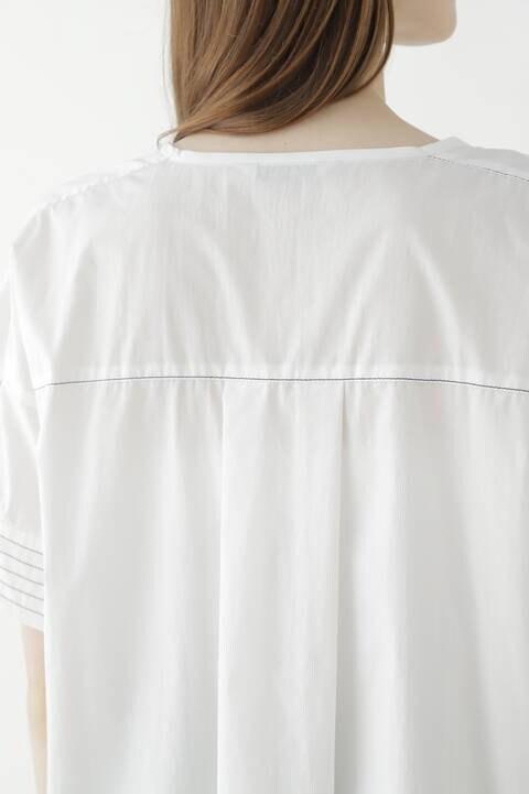 ステッチタイプライターシャツ
