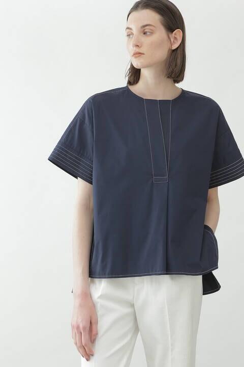 【先行予約 6月中旬-下旬入荷予定】ステッチタイプライターシャツ