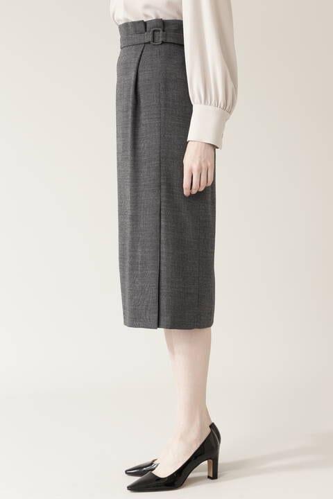 バーズアイセットアップスカート