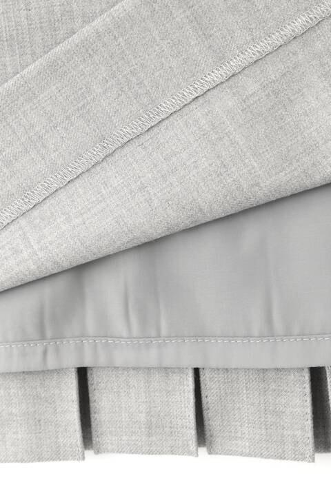 【先行予約 10月上旬-中旬入荷予定】ライトサキソニーセットアップスカート