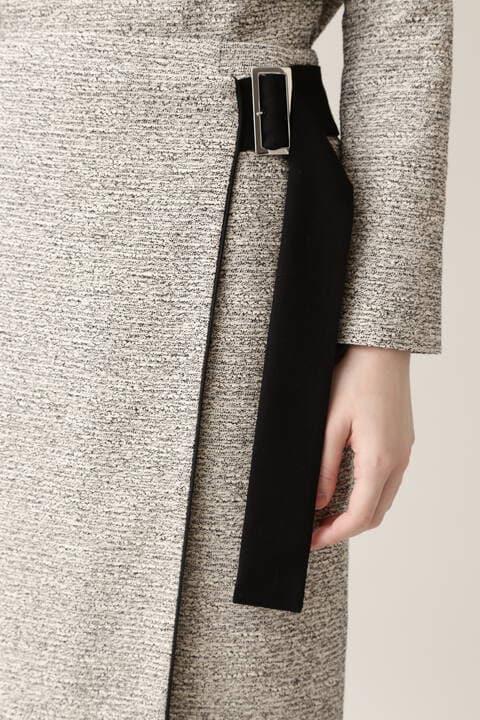【先行予約 11月上旬-中旬入荷予定】イージーツイードセットアップスカート