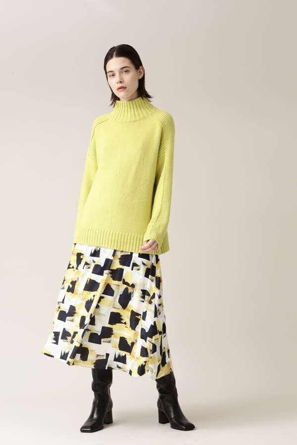 アートプリントスカート