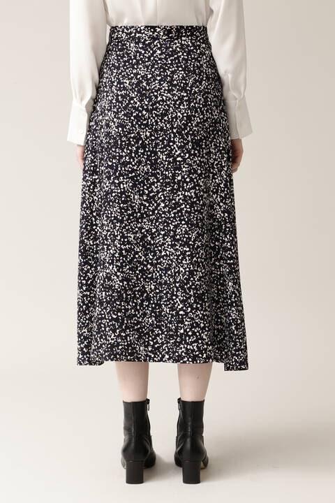 【先行予約 11月上旬-中旬入荷予定】デニスドットプリントスカート