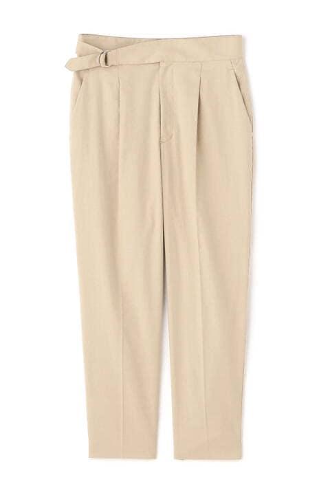 綿麻混オックスグルカパンツ