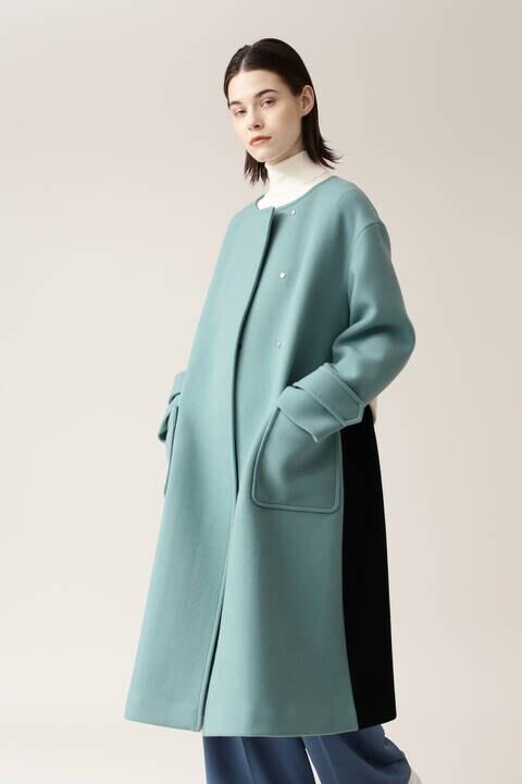【先行予約 11月上旬-中旬入荷予定】ブロッキングコート