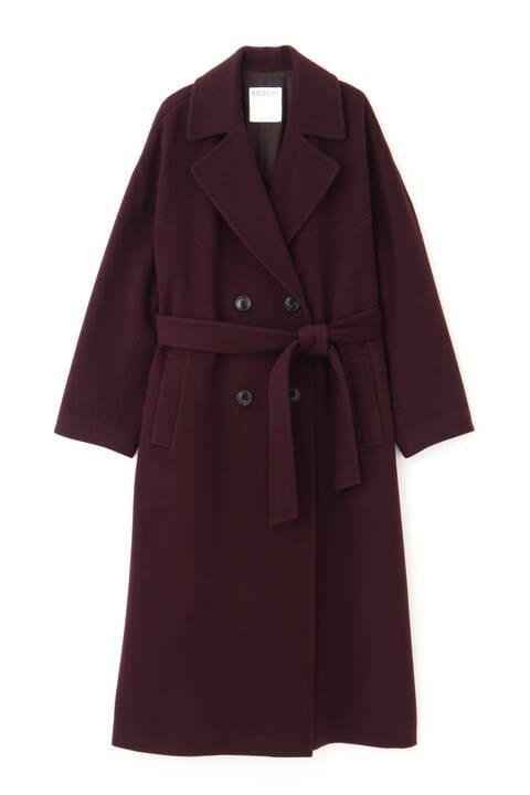 【先行予約 11月上旬-中旬入荷予定】ダブルロングウールコート