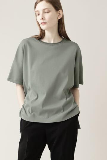 【先行予約 7月中旬-7月下旬入荷予定】ニットリブTシャツ
