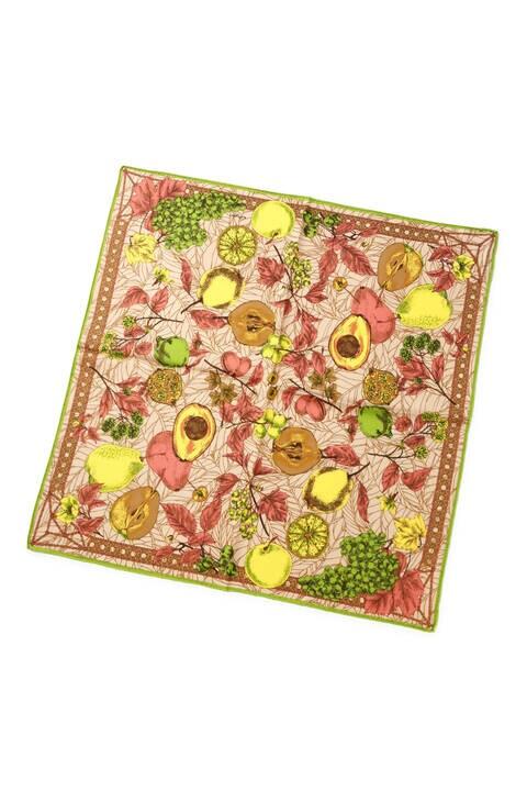 manipuri オータムフルーツスカーフ