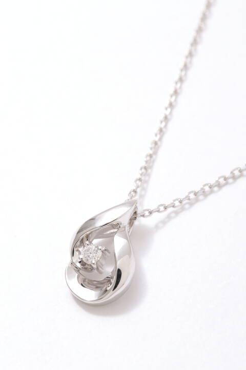 キャンドル ダイヤモンドペンダント(W)