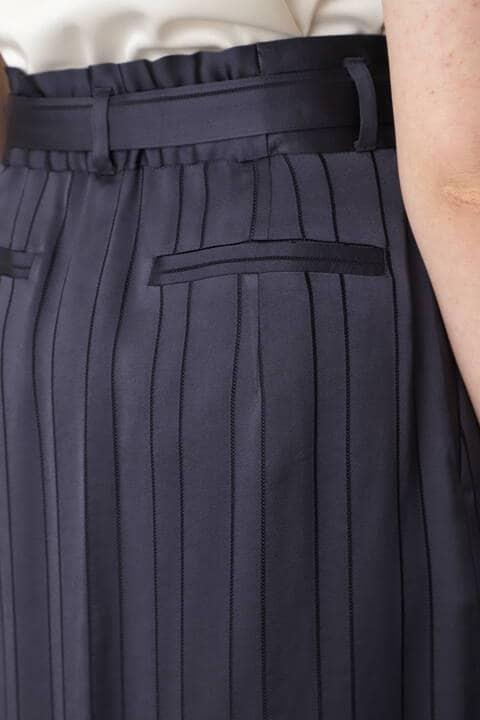 カラミストライプスカート