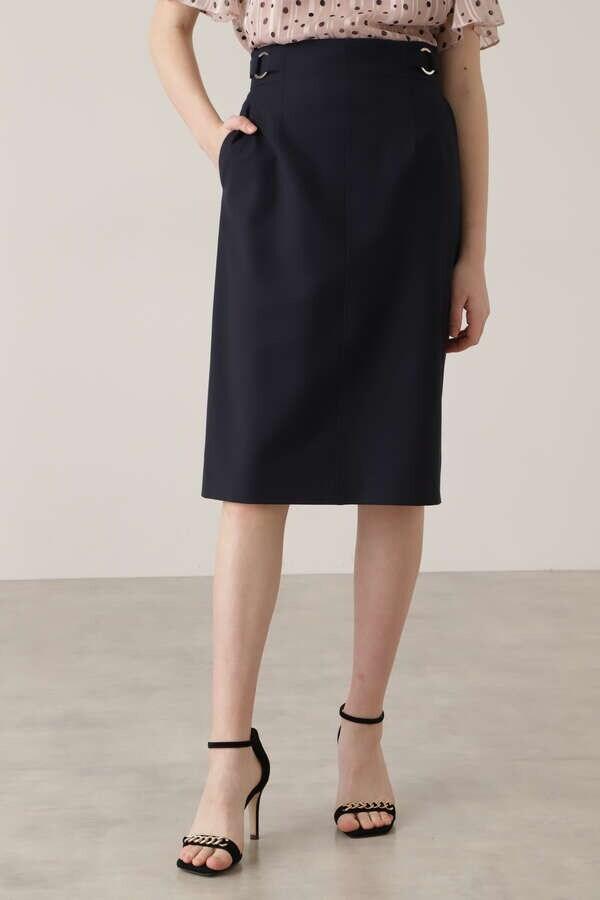 ダブルリングタイトスカート