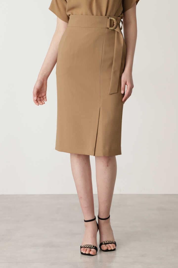 リネンライクセットアップスカート