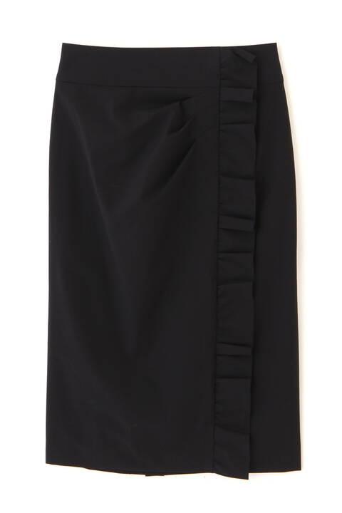 サイドギャザーデザインスカート
