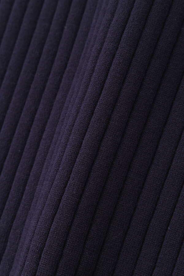 ベルト付きセットアップRIBニットスカート