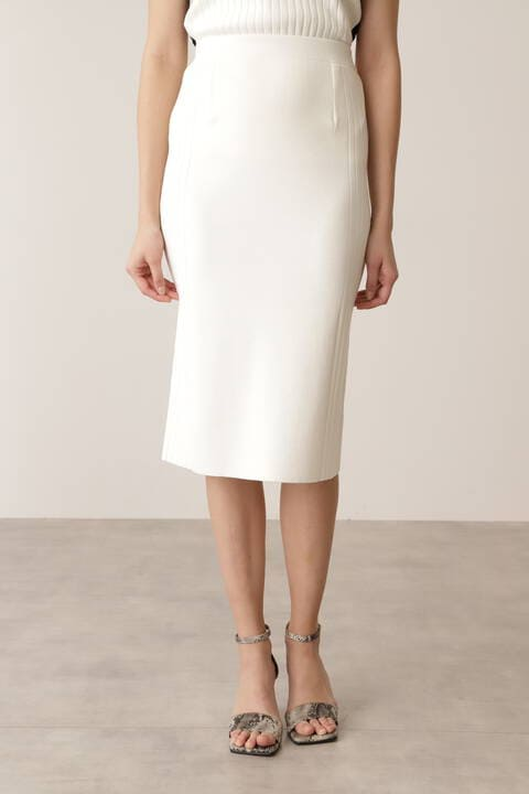 【先行予約 3月中旬-下旬入荷予定】サイドRIBニットスカート