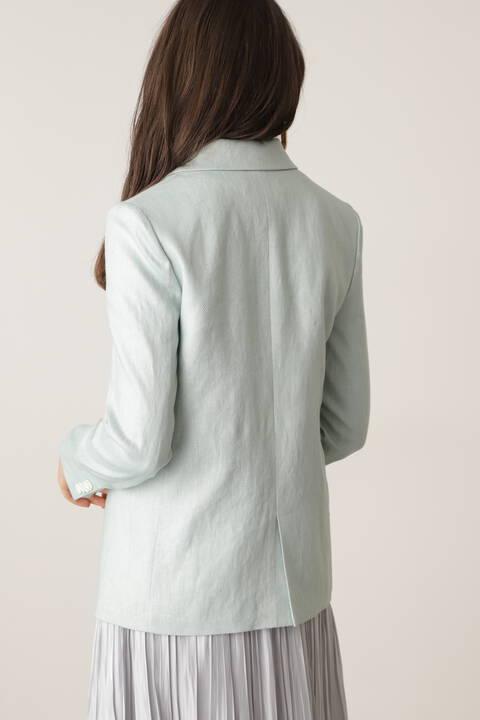 ヘリンボーンダブルブレストジャケット