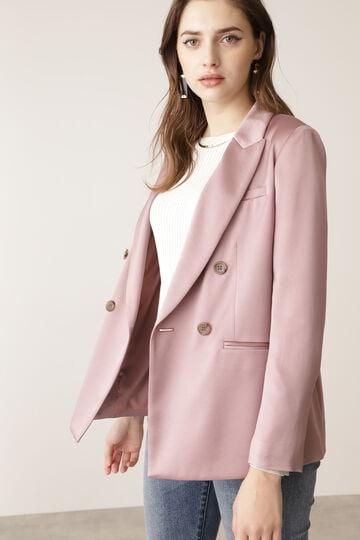 ハンマーサテンセットアップジャケット