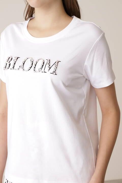 BLOOMビジューロゴTシャツ