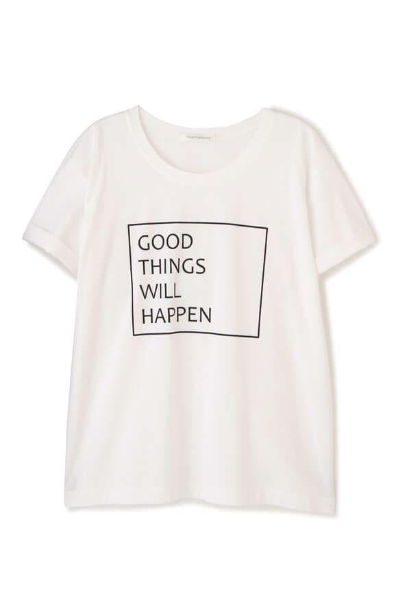 GOOD THINGS WILL HAPPEN Tシャツ