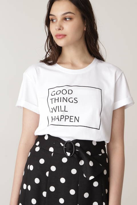GOOD THINGS WILL HAPPEN Tシャツ
